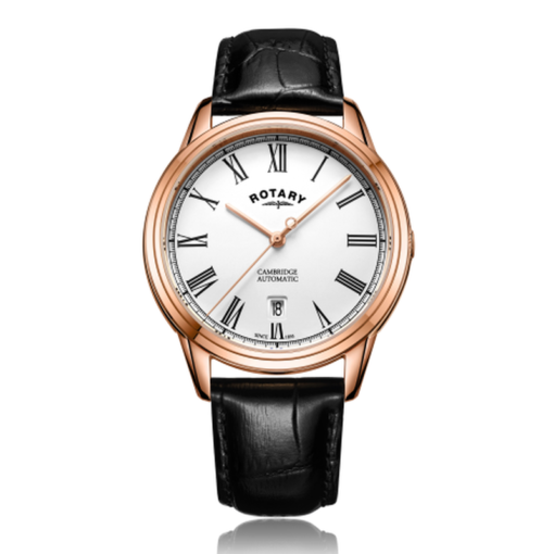 Rotary Cambridge Rose Gold Automatic