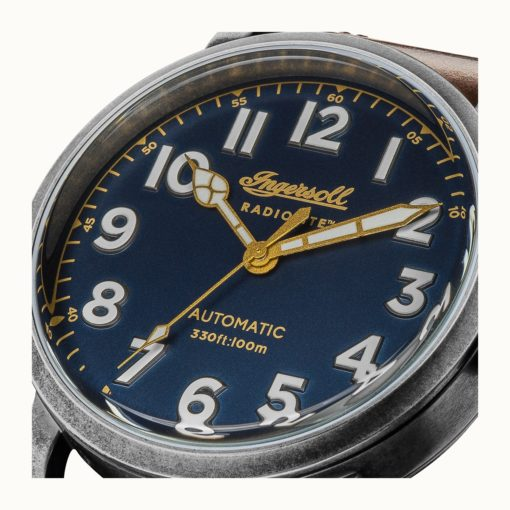 Ingersoll 1892 THE LINDEN RADIOLITE AUTOMATIC I04803